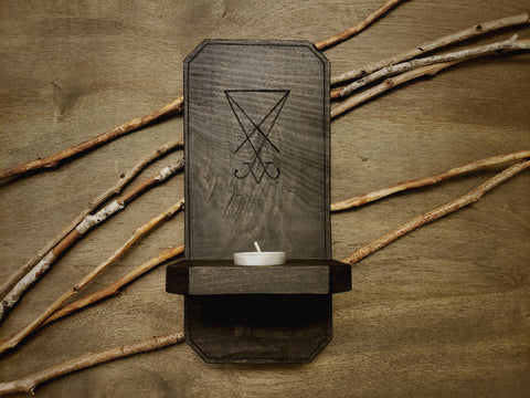 Sigil of Lucifer Wall Sconce