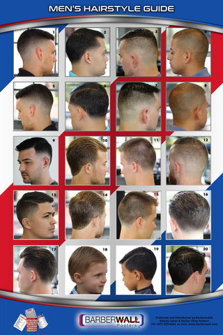 Best Barber Poster - Barber Shop Poster Laminated - Barberwall.com
