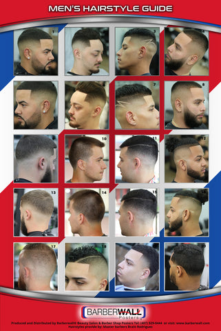 Barber Poster-Barber Shop Poster-Poster for Barber shop by Barberwall
