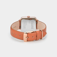 CLUSE La Tétragone Rose Gold/Butterscotch CL60010 - Ziffernblattdetails
