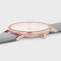 CLUSE Le Couronnement Rose Gold White/Soft Grey CL63001 - Uhrgehäuse – Detail