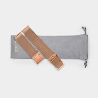 CLUSE Strap 20 mm Mesh. Rose Gold CS1401101063 - uhrenarmbandbeutel