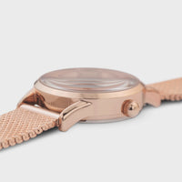 CLUSE La Vedette Mesh Rose Gold White/Rose gold CW0101206002 - Watch case detail