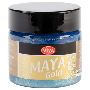 Iceblue Maya Gold Metallic Paint