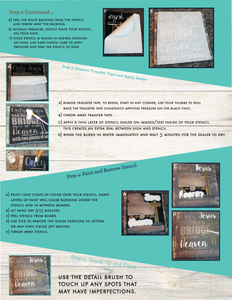 Step-by-Step Insructions (Pallet Sign Painting)