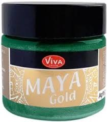 Emerald Maya Gold Metallic Paint