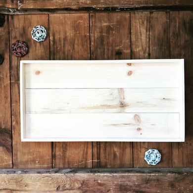 Framed Farmhouse Wooden Pallet Signs (Smooth and Ready to Paint)