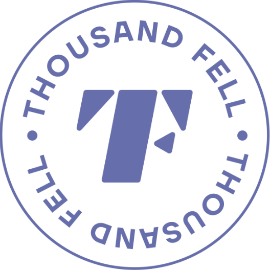 Thousand Fell Icon - Blue
