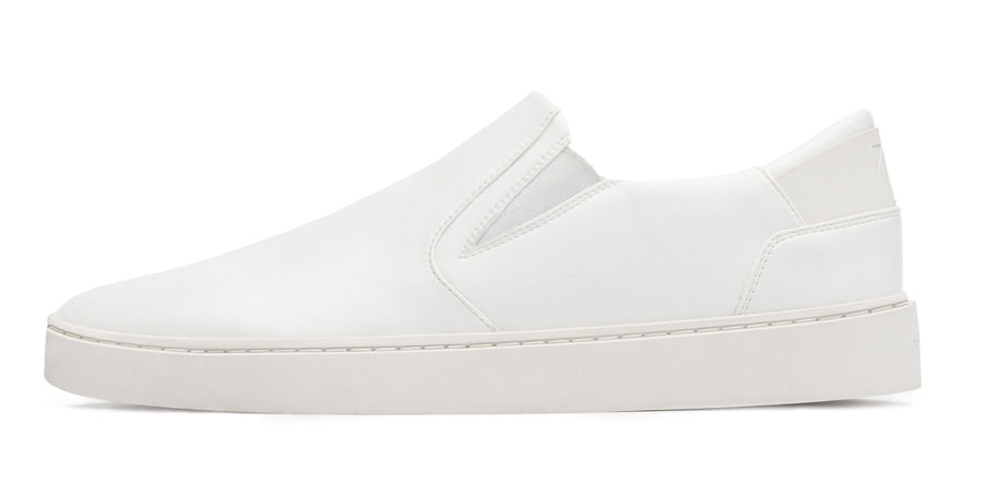 Men's Slip On | White