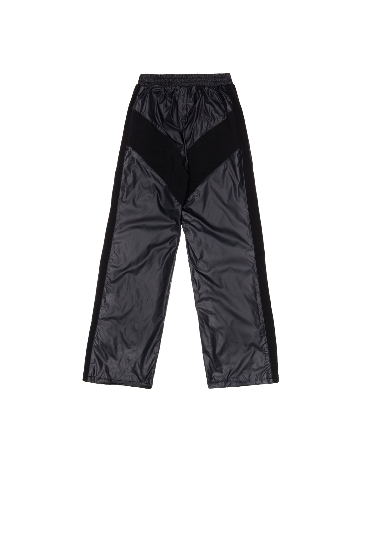 Outlaw Big Frame Logo Black Tracksuit Pants