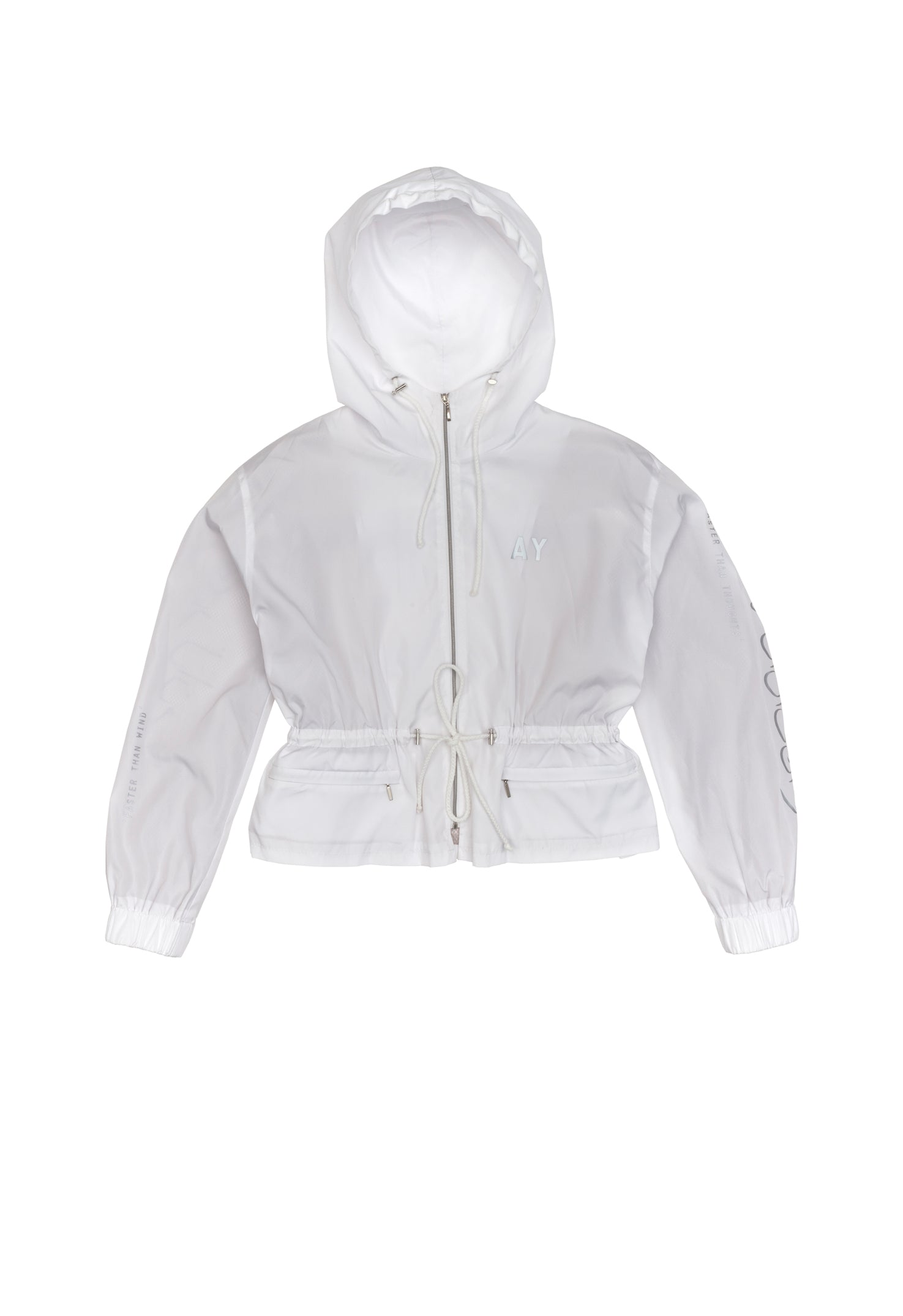 Arab White Track Top