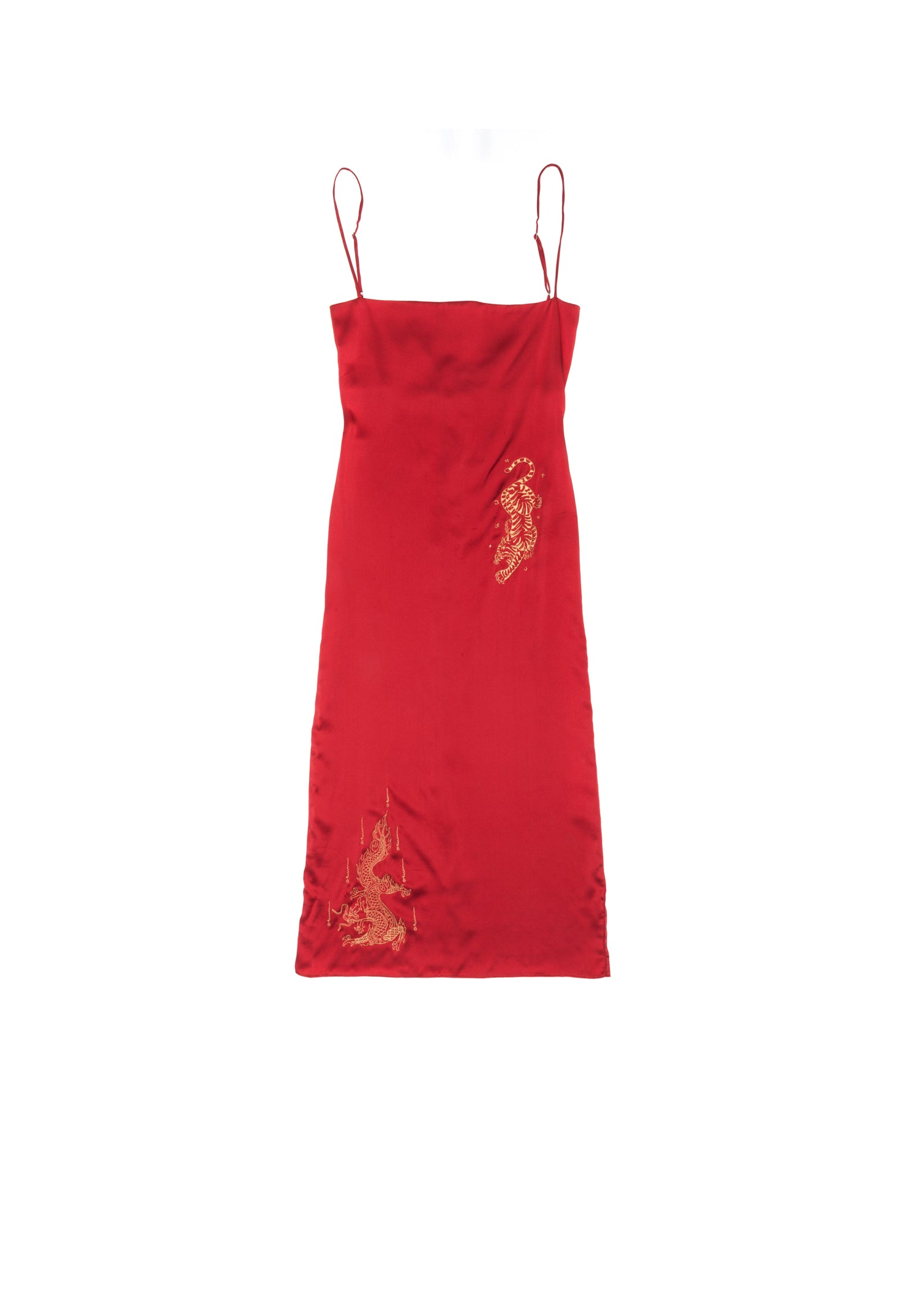 Red Dragon Dress