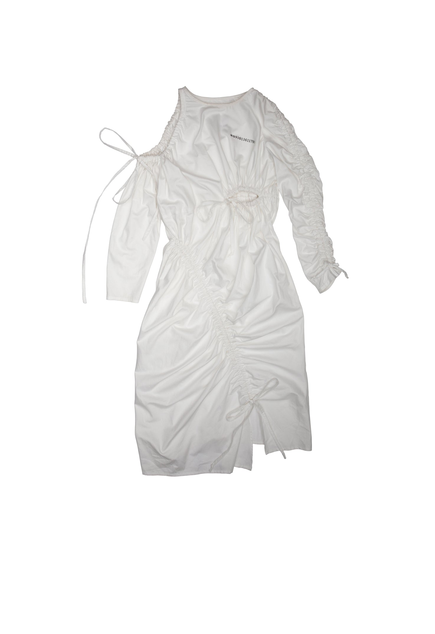 White Monk Dress