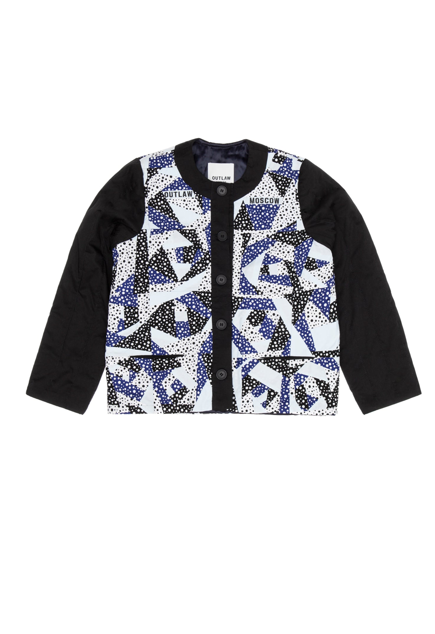 Patchwork Bomber jacket