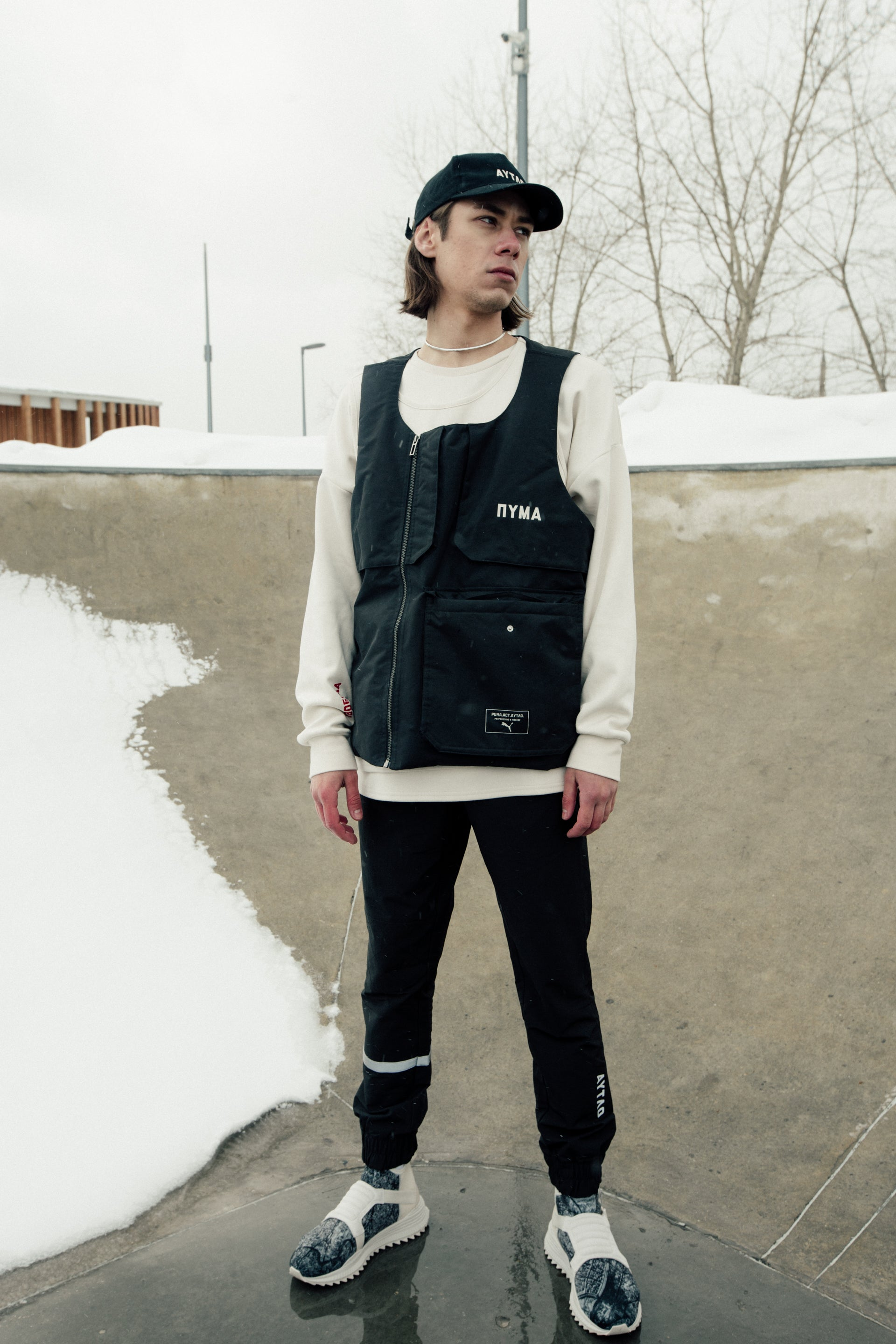PUMA | Outlaw Moscow Vest Black