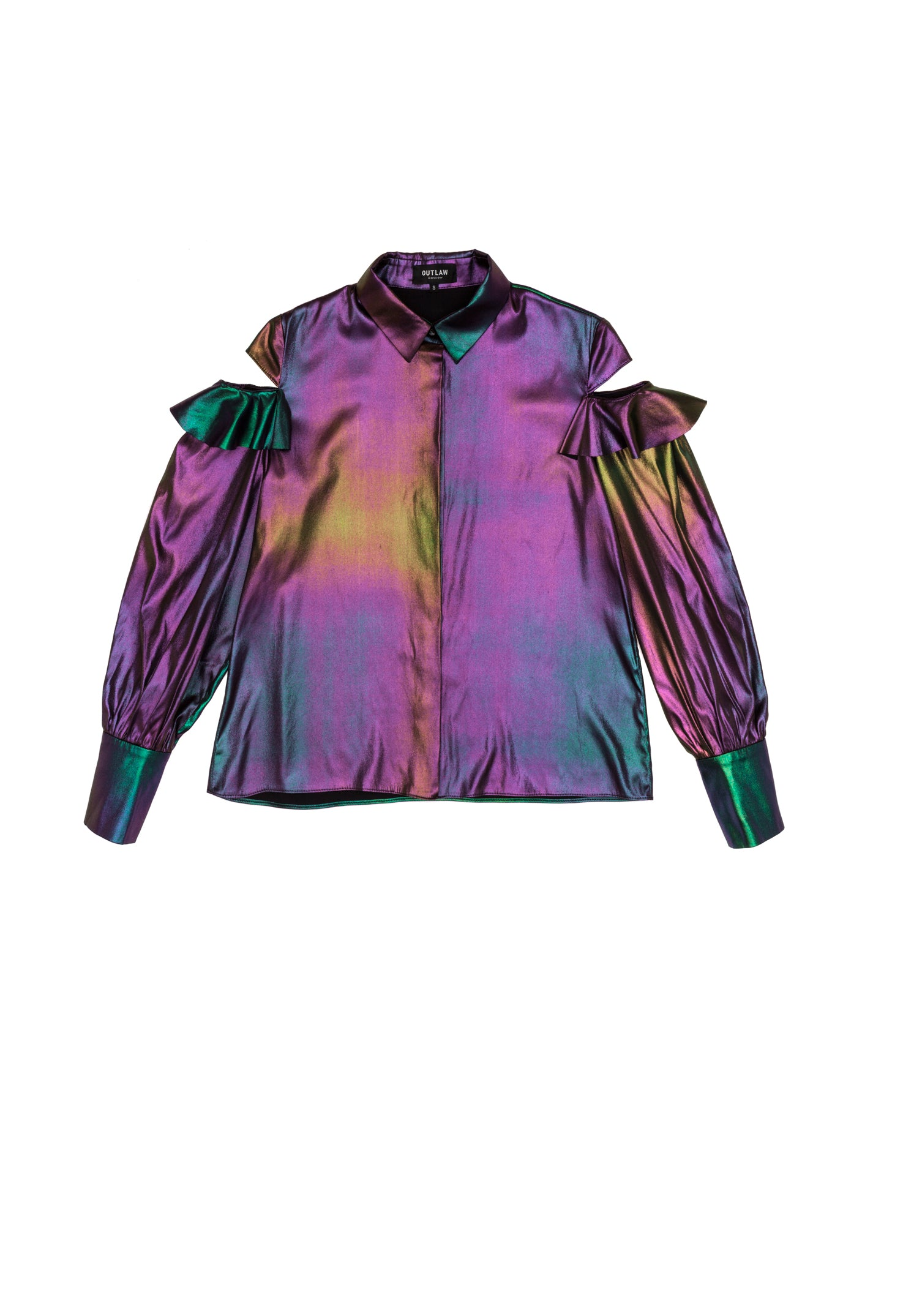 Gasoline Silk Shirt