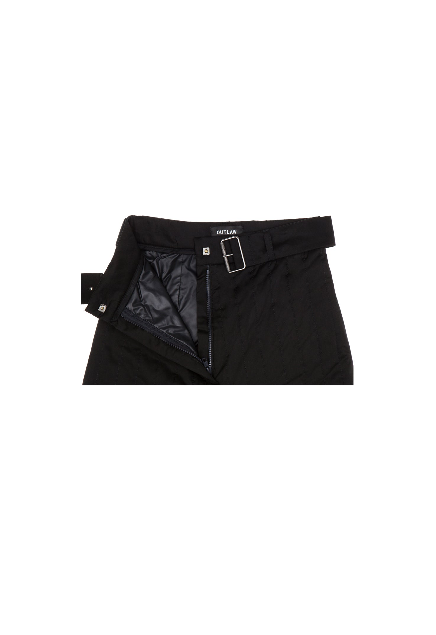 Knee Patch Black Trousers