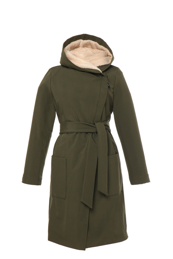 GERTRUD WINTER COAT - (KHAKI ) / ウィンターコート