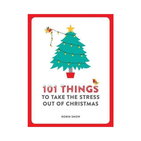 Small funny book called 101 things to take the stress out of Christmas