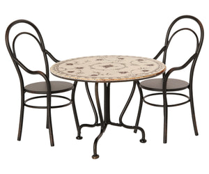 Maileg Mini Dining Table and Chairs Set