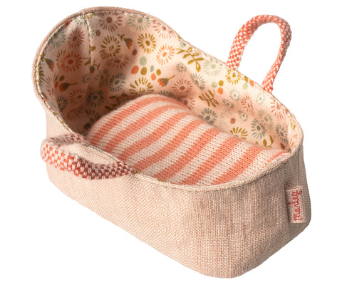My Bunny Rose Carry Cot by Maileg - A Fly Went By