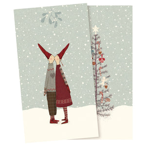 Christmas Kissing Pixy Napkins by Maileg - A Fly Went By