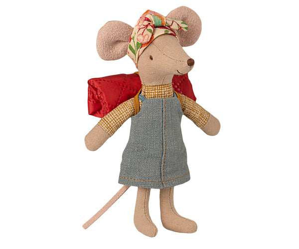 Maileg Big Sister Hiker Mouse