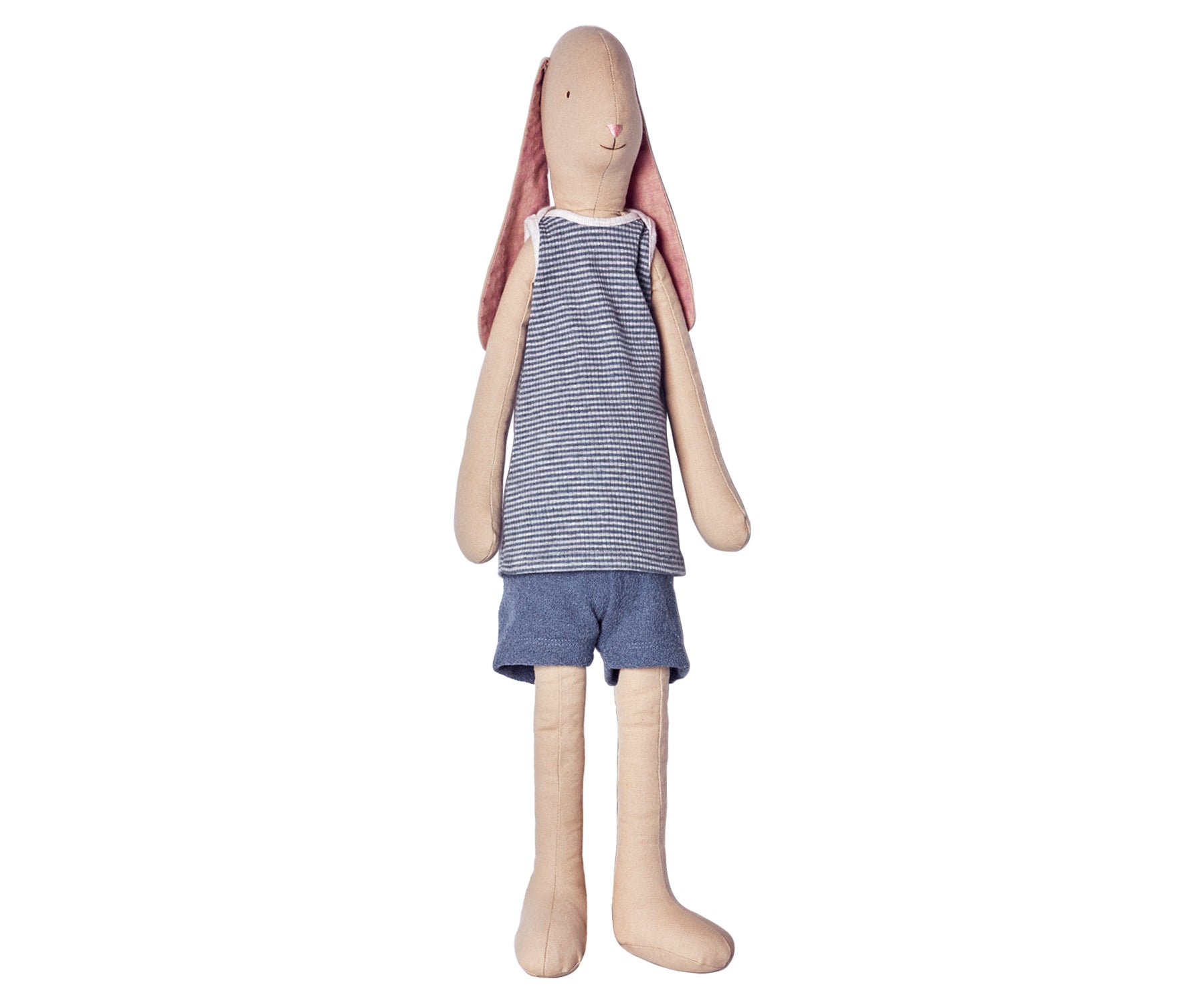 Maileg Mega Boy Bunny in Shorts and T Shirt Children- a-fly-went-by.myshopify.com