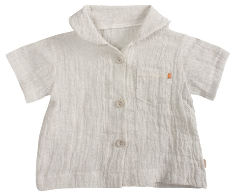 Maileg Grey Shirt for Mega Maxi Rabbits and Bunnies Children- a-fly-went-by.myshopify.com