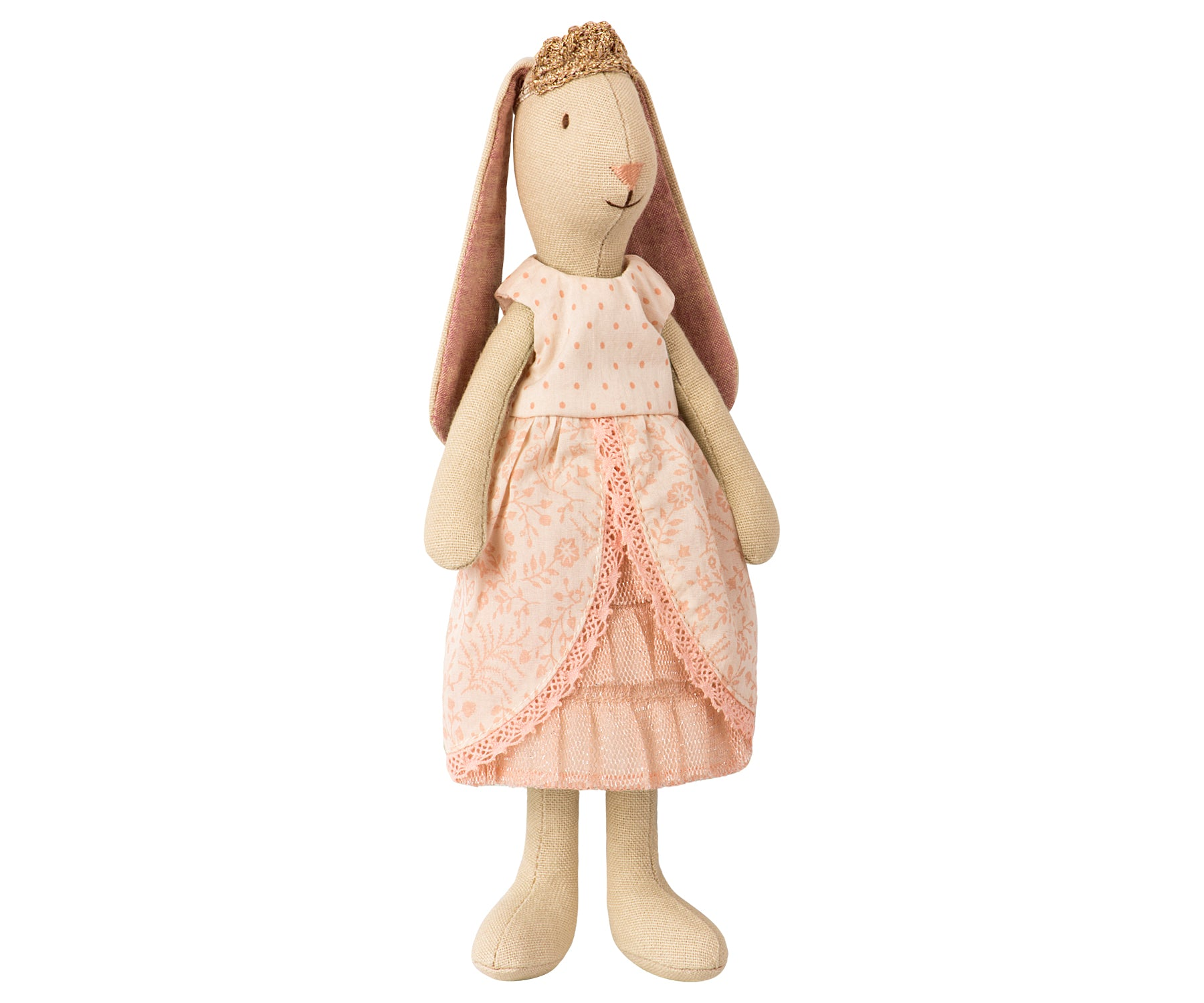 Maileg Mini Bunny Princess in Rose Dress Children- a-fly-went-by.myshopify.com