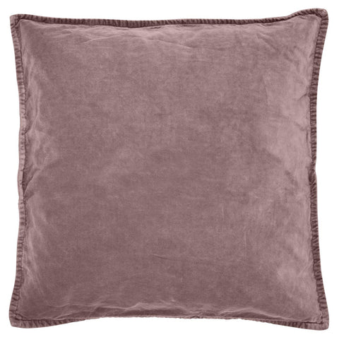 Malva Pink Velvet Cushion Including Feather Pad by IB Laursen - A Fly Went By
