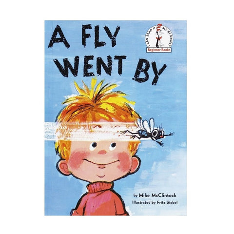 Vintage A Fly Went By Hardback Book by A Fly Went By - A Fly Went By