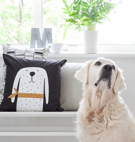 Spira of Sweden Bosse Dog Cushion Homeware- a-fly-went-by.myshopify.com