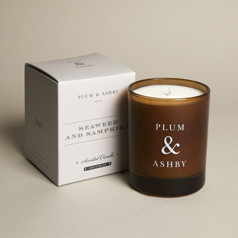 a fly went by plum and ashby Seaweed & Samphire Recycled Candle