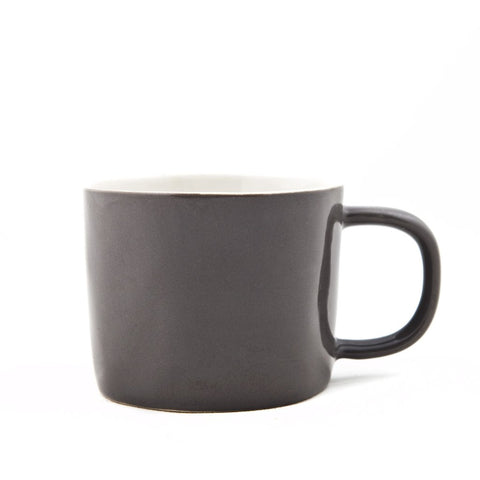 Gorgeous Charcoal Ceramic Mugs