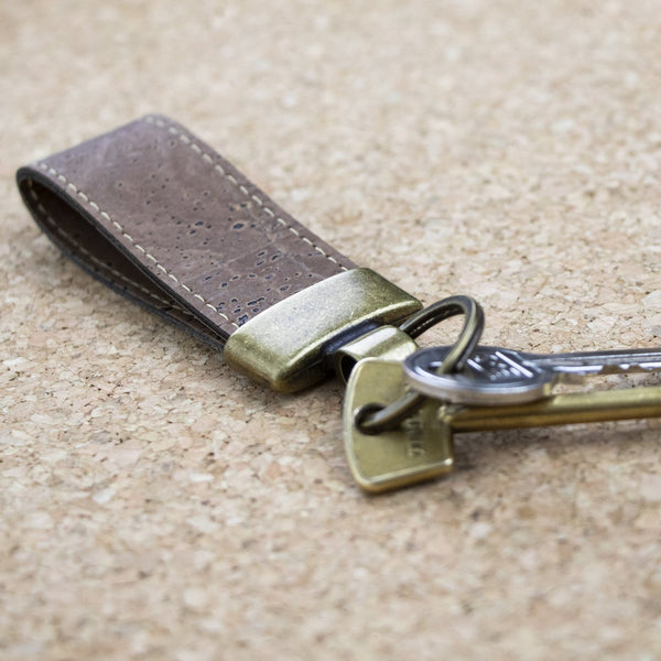 Sustainable Cork Key Fob