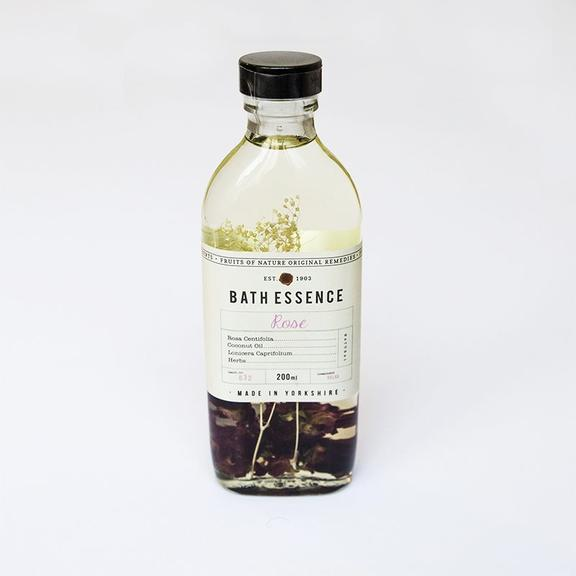 Fikkerts Rose Bath Essence Wellbeing- a-fly-went-by.myshopify.com