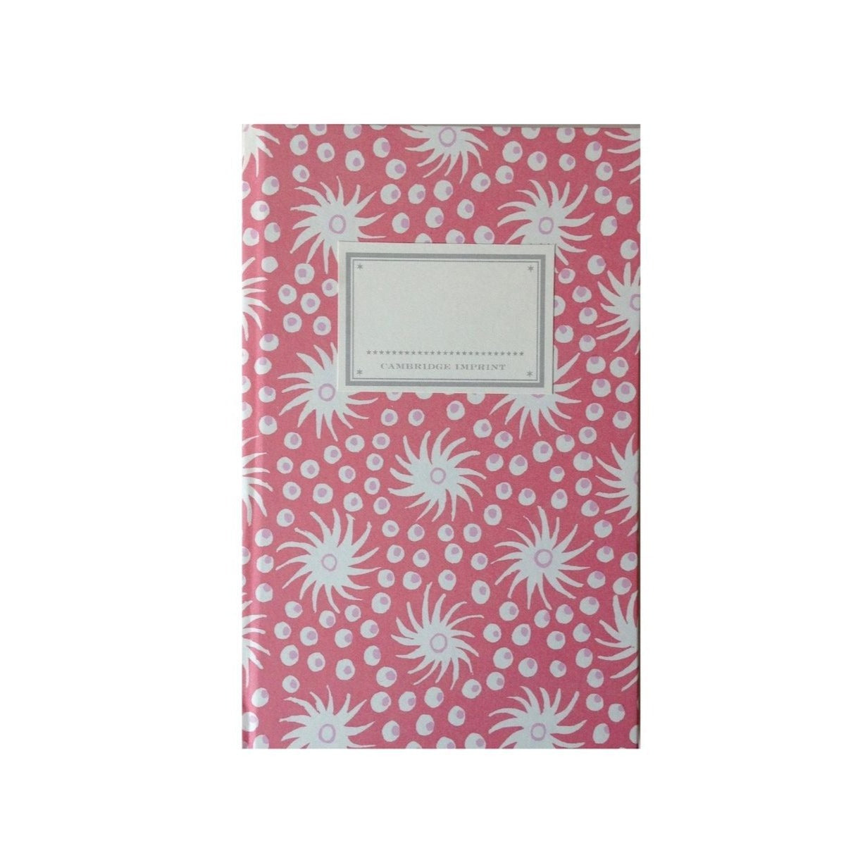 Pretty Pink and Red Hardback Notebook