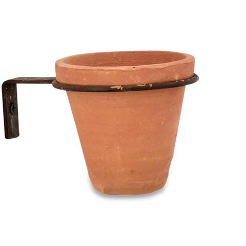 Jara Terracotta Wall Hung Planters by Nkuku - A Fly Went By