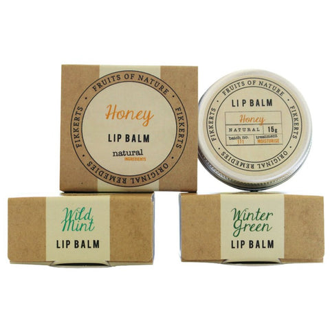 Wild Mint Lip Balm by Fikkerts - A Fly Went By