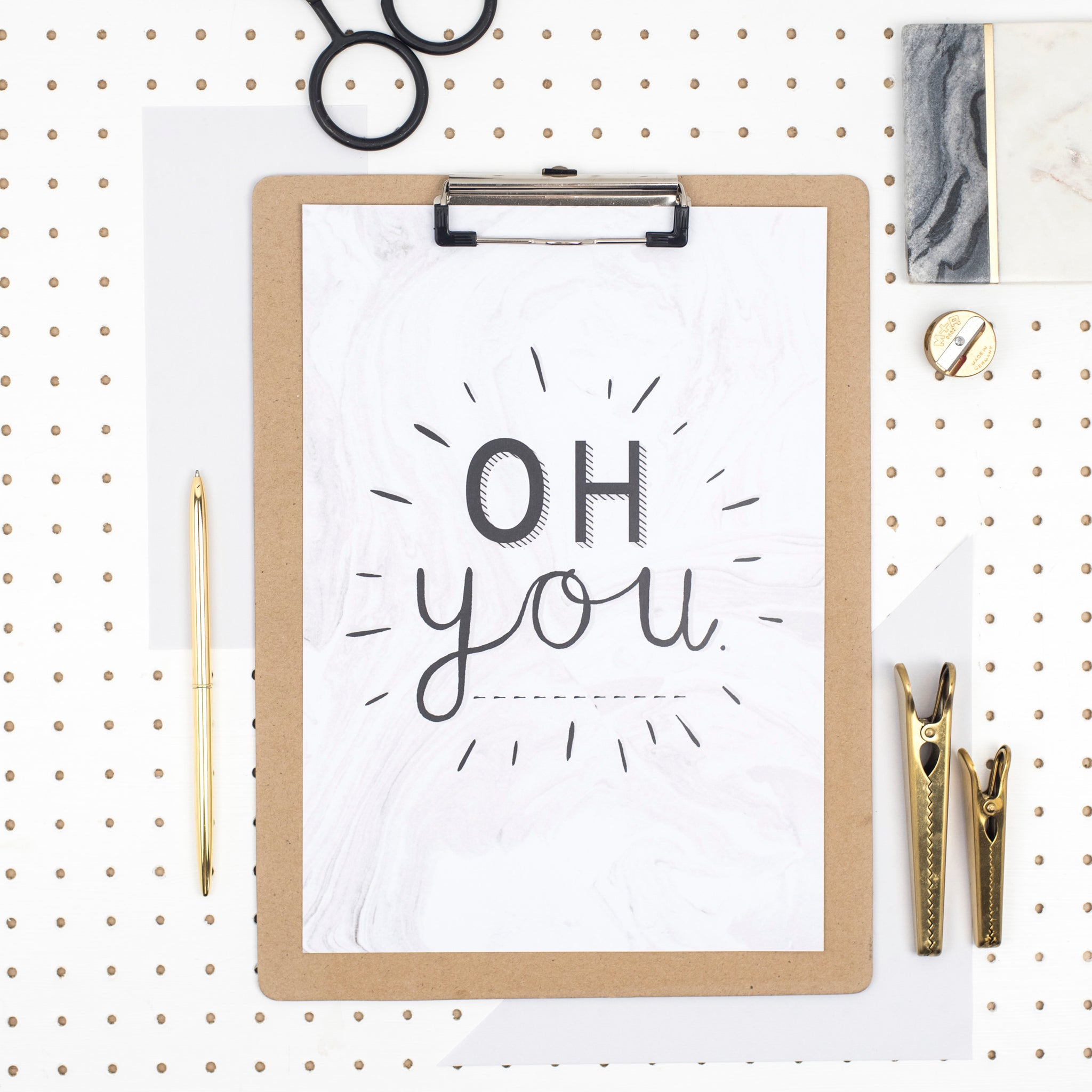 'Oh You' A4 Print