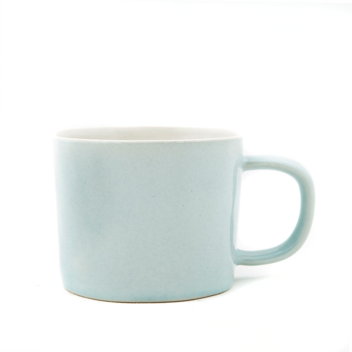 Gorgeous Pale Blue Ceramic Mugs by Quail's Egg - A Fly Went By