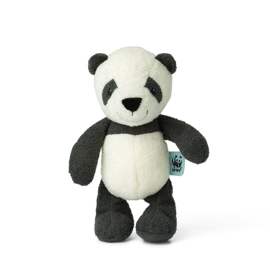WWF Cub Club Panu the Panda Bell Rattle Sensory Toy Children- a-fly-went-by.myshopify.com