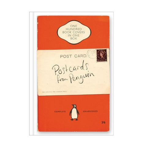 100 Penguin Postcard Collection Box