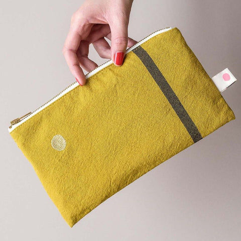 Suzette Zipped Make Up Bag