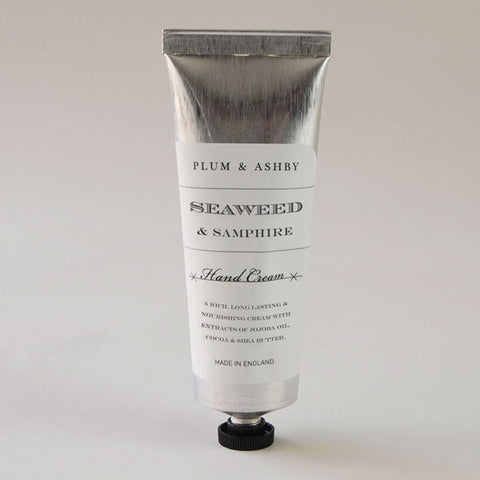 Plum and Ashby Seaweed & Samphire Hand Cream Wellbeing- a-fly-went-by.myshopify.com