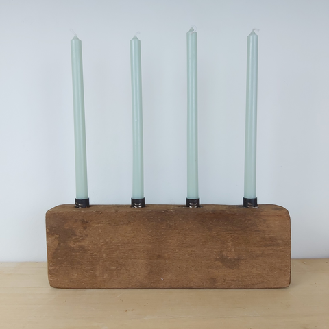 ib laursen wooden candle holder