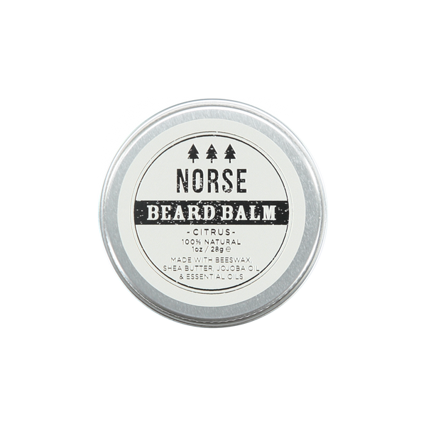 Norse Lifestyle Citrus Beard Balm Wellbeing- a-fly-went-by.myshopify.com