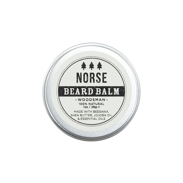 Norse Lifestyle Woodsman Beard Balm Wellbeing- a-fly-went-by.myshopify.com
