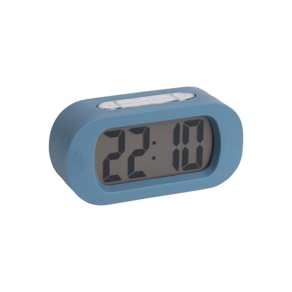 Cornflower Blue Gummy Alarm Clock